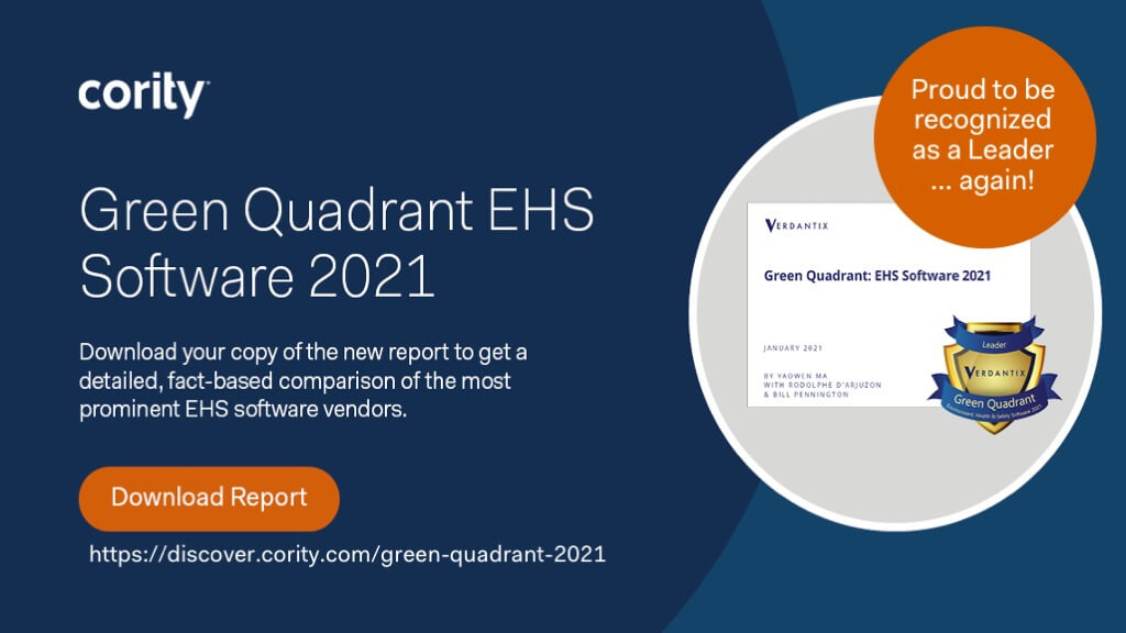 Green Quadrant EHS Software 2021
